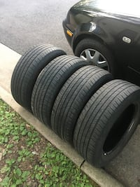 4 tires 225/65r17 brand cooper $80 for all  Leesburg, 20176