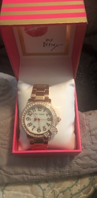 Rose gold Betsy Johnson watch Upland, 91786