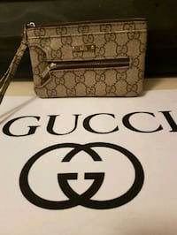 brown and black monogrammed Gucci leather crossbody bag Whitby, L1N 8X2