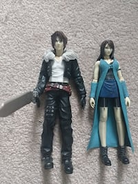 Squall and Rinoa Final Fantasy Figures Langley