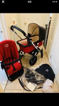 Baby's black and red travel system New York, 10466