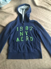 Navy Hoodie Jacket Cambridge