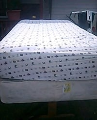 white and gray floral mattress Cassopolis, 49031