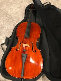 Full Size Hand-Crafted Cello 4/4 with outstanding sound!