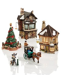 Estate Sale (part 2) Department 56 Dickens, North Pole and Alpine