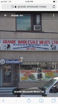 Contents Sale - Meat Store Closing  Toronto, M9N 2E6