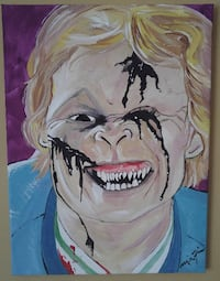 "Stephen King ""Sleepwalkers"" painting, on framed ca K8V 1G6"