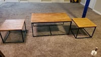 Set of 1 coffee table and 2 end tables  Woodbridge, 22192