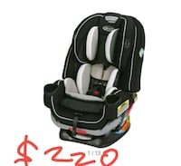 Car seat 4ever new in box