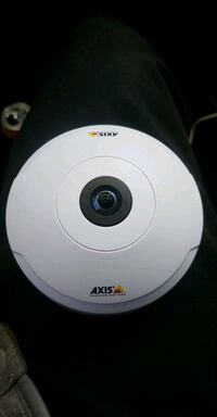 Axis 360 panoramic view hd security camera