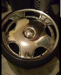 22in Draggz Custom Chrome Rims
