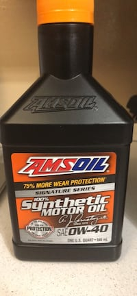 Amsoil signature series 100% Synthetic Motor Oil 0W-40 Woodbridge, 22193
