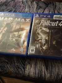 PlayStation 4 Fallout 4 and Mad Max Saskatoon, S7L 6N9