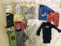 Newborn Great quality brand name baby boy clothes   Belleville, K8P 3B6