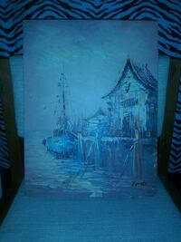 Oil painting on canvas background Haines City, 33844
