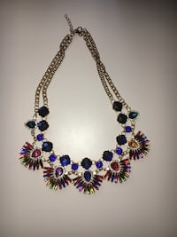 silver and blue beaded necklace Las Vegas, 89147