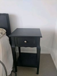 Two side tables (Black and Espresso)