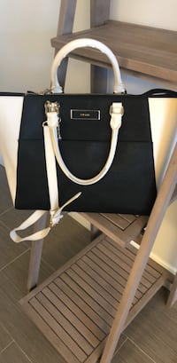 black and brown leather tote bag Ashburn, 20148