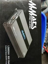 Brand new 4 channel amp NO TRADES UNLESS MONEY