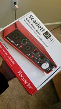 Focusrite Scarlett 2i4 USB Audio Interface Columbia, 21044