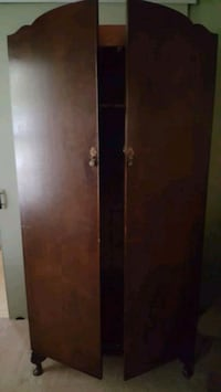 Armoire with hanging bar-storage Closet