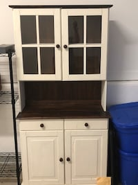 white and brown wooden cabinet Frederick, 21703
