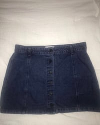 Forever 21 jean button up skirt  Castro Valley, 94546