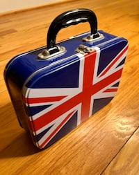 British Flag Metal Lunch Box, 2002. Collectible & functional! Fredericksburg, 22405