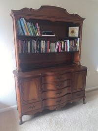Antique French Provincial Hutch
