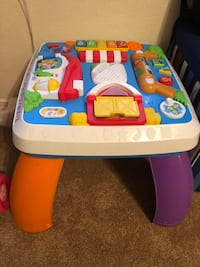 White, blue, and red activity table Albuquerque, 87120