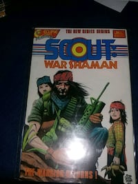 Scout War Shaman issue 1-12 Vancouver, V6E 1L4