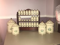 Lenox Spice set and lenox canister set Baltimore, 21220