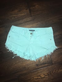 women's white denim shorts 469 km