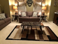 Matching Coffee table and 2 side tables Flanders, 07836