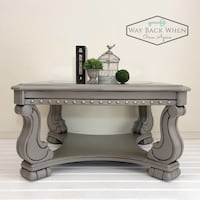 Freshly, Professionally Painted Coffee Table Sterling, 20165