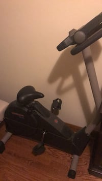 black and gray stationary bike St Catharines, L2N 4P2