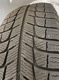 4 Winter tires Michelin x-ice 195/65/r15 Montréal
