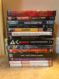 Assorted DVDs  Brampton, L7A 2Y3