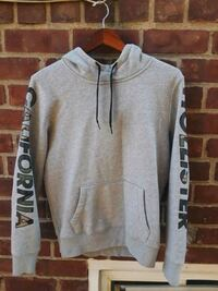 gray and black pullover hoodie 344 km