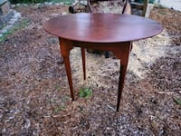 Solid Wood table.  $40.00 Boston, 02120