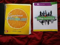 Psychology and accounting college books Farmington, 87401