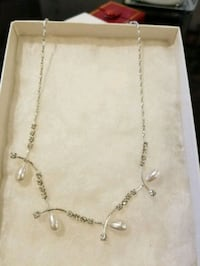 Pearl necklace with pendant 778 km