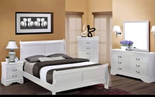 Full size bedroom set 4 pcs