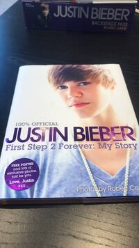 Justin Bieber first step 2 Forever: My Story.. Toronto, M4C