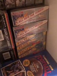 Sports cards 80s/90s unopened