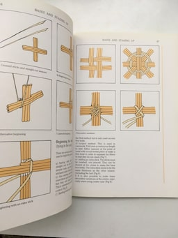 The Complete Book of Basketry Techniques / Sue Gabriel - Sally Goymer 912c5d16-9281-4548-aab1-538244619aa0