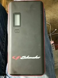 Schumacher portable battery charger and jump starter