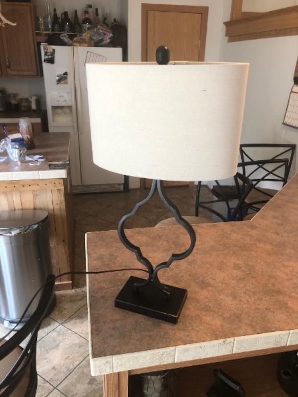 Hobby Lobby Lamp W Shade And Led Bulb Excellent Shape