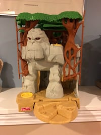 Fisher Price Gorilla Mountain Playset - $20 for one, $30 for both Trumbull, 06611
