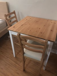 IKEA Wood Table and Chairs 535 km